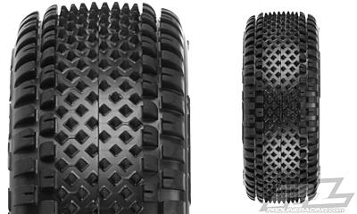 "Pro-Line Prism 2.2"" 4WD Z3 (Medium Carpet) Off-Road Carpet Buggy Front Tires"