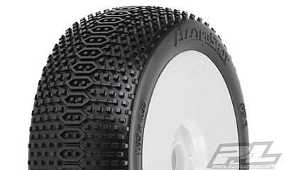 Pro-Line ElectroShot X2 (Medium) Off-Road 1:8 Buggy Tires Mounted