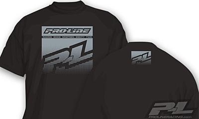 Pro-Line Half Tone Black T-Shirt - S