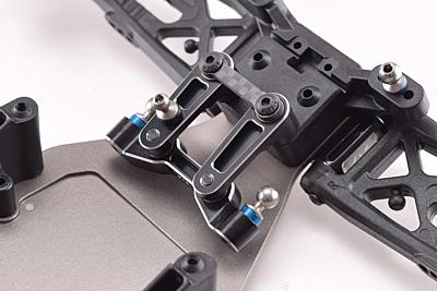 Revolution Design B6 Aluminium Steering Rack (Black)