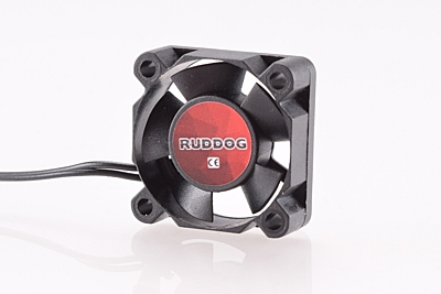 Ruddog Fan 30mm with 240mm Wire (Black)