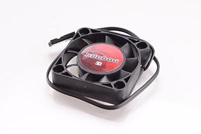Ruddog Fan 40mm with 240mm Wire (Black)