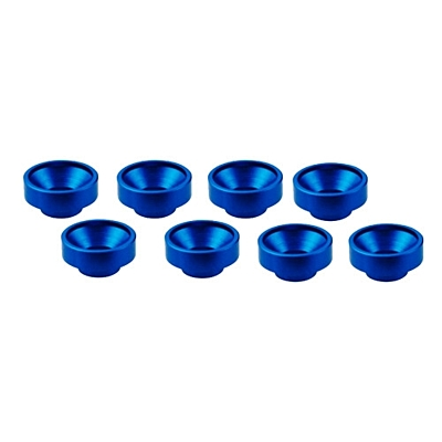 Ultimate Racing M3 Aluminum Servo Washer (8pcs·Blue)