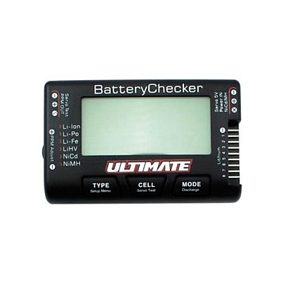 Ultimate Racing Battery Checker 2-8S