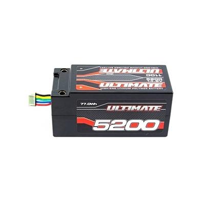 Ultimate Racing 14.8V 4S 5200mAh 110C/55C Shorty LiPo Battery