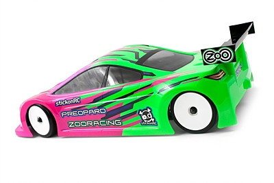 ZooRacing PreoPard Standard 0.7mm Touring Car Body 190mm