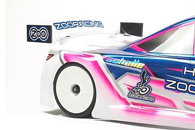 ZooRacing HellCat Ultralight Touring Car Body 190mm