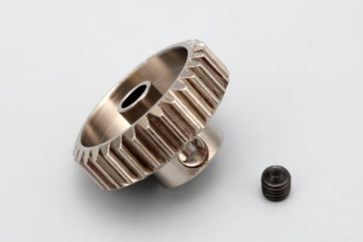 Yokomo 33T Hard Precision Pinion Gear (48Pitch·Light Weight)
