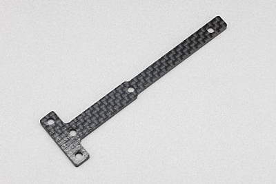 YZ-4SF Graphite Front Chassis Brace Plate