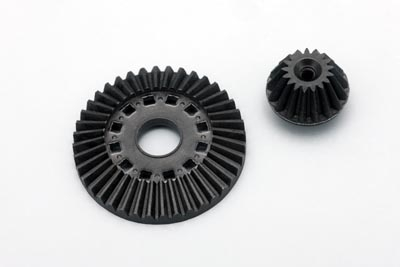 Yokomo Graphite Ring Gear/Drive Gear Set for Ball Differential