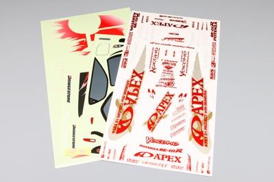 Yokomo A'PEX FD3S RX-7 Decal Set
