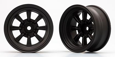 Yokomo RS WATANABE 8-SPOKE (Black) Off-set 12mm