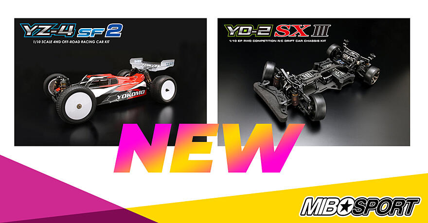 New Yokomo YZ-4SF2 and YD-2SXIII release