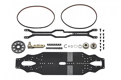 Arrowmax Medius Yokomo BD9 MID Conversion Kit (2.25mm Carbon Main Chassis)