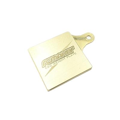 RC Maker LCG ESC Weight Plate - Universal (12g)