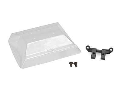 JConcepts Xray XB2 Lower Front Wing Mount w/Wing