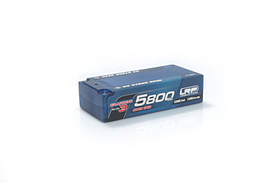 LRP Graphene-3 Stock Spec Shorty 5800mAh 7.6V 2S 130C/65C HV LiPo (5mm, 220g)