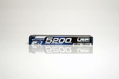 LRP Graphene-4 Hyper LCG Modified 5200mAh 7.6V 2S 120C/60C HV LiPo (5mm, 215g)