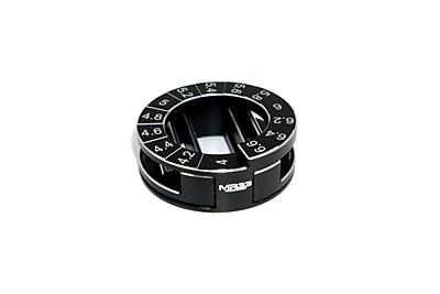 MR33 Circle Droop Gauge 4,0 - 6,6mm incl. Droop Blocks
