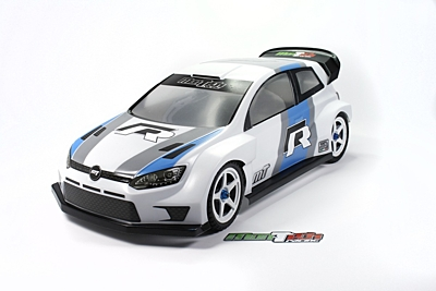 Mon-Tech WR4 FWD/Rally Clear Body 190mm