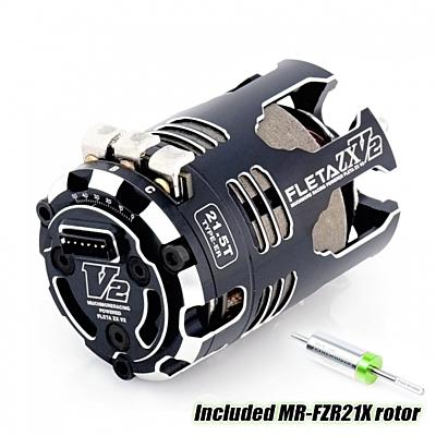 Muchmore FLETA ZX V2 21.5T ER Spec Brushless Motor w/21X Rotor