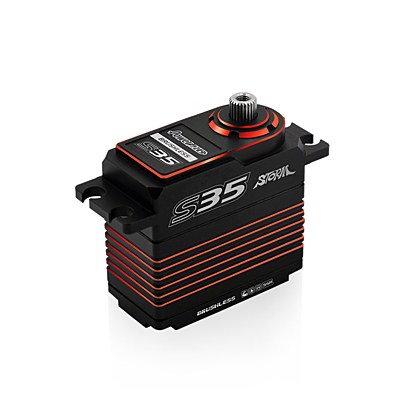Power HD S35 Red (0.075s/30.0kg/7.4V) Brushless Servo