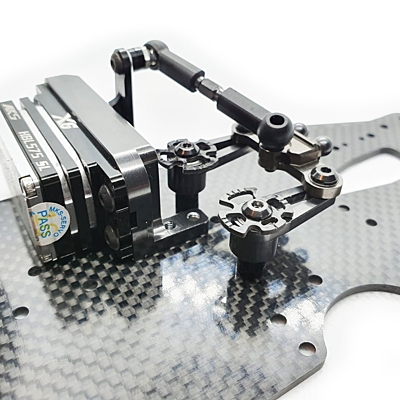 RC Maker GeoCarbon Cam Steering Limiters for Awesomatix