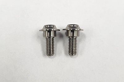 Reve D Super Precision Machine Cut Titanium Servo Screw (2pcs)