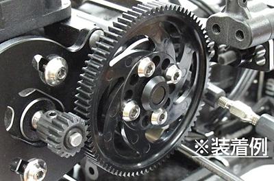 Reve D Super Precision Machine Cut Titanium Spur Gear Screw (4pcs)