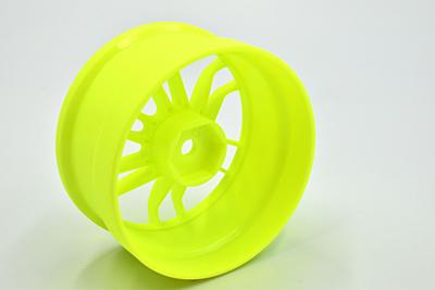 "Reve D Competition Drift Wheel ""UL12"" Yellow (Offset 6mm, 2pcs)"