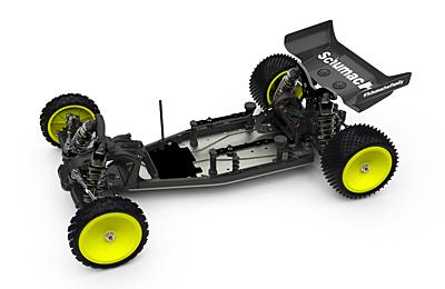 Schumacher Cougar Laydown 1/10 2WD Buggy Kit