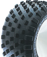 Schumacher Stagger Rib - Truck Tyres - Yellow (1 pair)