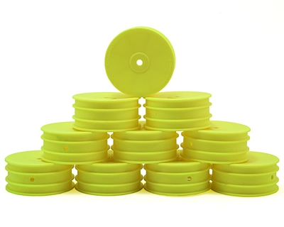 Schumacher Wheel Front 4WD - Neon Yellow (5 pairs)