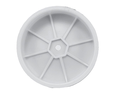 Schumacher Wheel Front Slim 2WD - White (5 pairs)