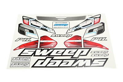 Sweep P1L GT 1:8 On Road Clear Body