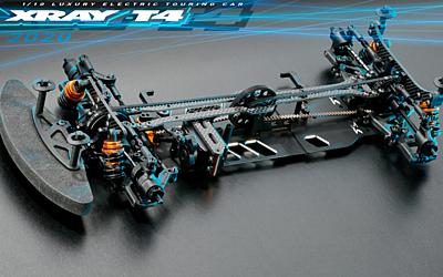 XRAY T4'20 - Alu Edition - 1/10 Luxury Electric TC - BRUNO Edition (Servo+Screw set)
