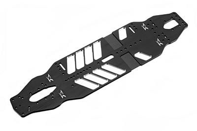 XRAY T4'20 Alu Extra Flex Chassis 2.0mm - Swiss 7075 T6