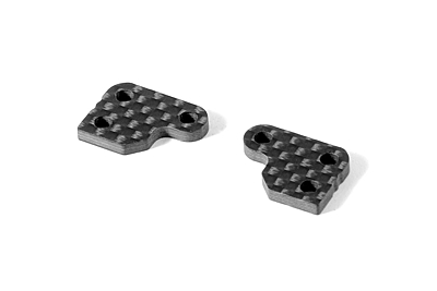 XRAY XB2 Graphite Extension for Steering Block (2pcs) - 2 Slots
