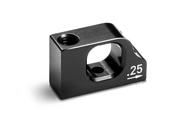 XRAY T4'20 Alu Lower 2-Piece Suspension 0.25 Eccentric Holder