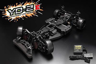 Yokomo YD-2E RWD Drift Car Kit (Plastic Chassis with YG-302 Steering Gyro)