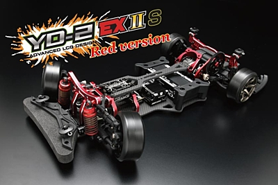 Yokomo YD-2EXIIS RED LIMITED RWD Drift Car Kit (Graphite Chassis)