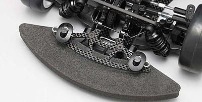 BD9 Graphite Front Bumper Brace