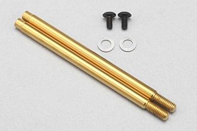 YZ-2T Rear X33 Shock Shaft (Gold Titanium Coating)