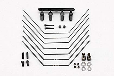 YZ-2 Rear Soft Stabilizer Set (New arm compatible / 0.8mm-1.4mm·7pcs)